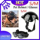 Motorcycle Safety Helmets For Pet Cats& Dogs Puppy Protect Bike Accessories US