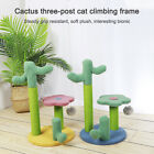 Cactus Cat Scratching Post Kitten Climbing Frame Activity Centre Cat Indoor
