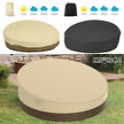 SunPatio Outdoor Daybed Cover, Waterproof Round Canopy Sofa Bed Cover
