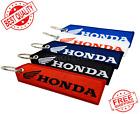 Honda Motorcycle ATV SXS Outboard 1 PC Keychain Double Sided Embroidered FOB