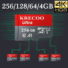 256GB 128GB Micro SD SDXC Memory Card Fast 275MB/S Class 10 TF Card with Adapter