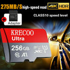 2021 New 256GB 128GB Micro Memory SD Card 275MB/S TF Card Class10 with Adapter