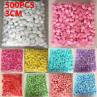 500 Foam Mini Artificial Roses Heads Buds Fake Flowers Wedding Home Party Decor.