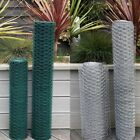 PVC Coated or Galvanised Chicken Wire Mesh Netting Rabbit Cage Aviary Net Fence
