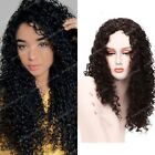Long Curly Wigs for Women Afro Curly Wig Middle Part High Density Synthetic Wigs
