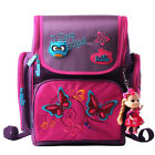 Children Girls Kids Cartoon School Bags Lovely Safe School Backpack With Doll
