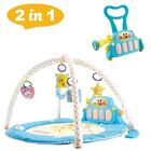 Baby Play Mat Gym Floor Musical Activity Center Kick And Play Piano Toy Soft Pad