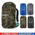 Water-proof Backpack Cover 15L-88L Bag Camping Hiking Outdoor Rucksack Rain VG
