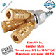 Merlin 3 Way Splitter Manifold Quick Air Coupler Male Coupling Industrial Tool