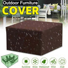 Waterproof Garden Patio Furniture Cover Rattan Table Cube Covers Outdoor Dust