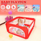Baby Playpen Fence Play Yard For Children Kids Safety Barrier Game House w/ Ga