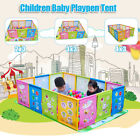 Children Kids Cartoon Play Pen Fence Playpen Baby Safety Pool Game Toddl