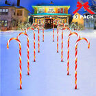 CHRISTMAS+CANDY+CANE+PATHWAY+LED+LIGHTS+GARDEN+BATTERY+POWERED+STAKE+LIGHTS+UK