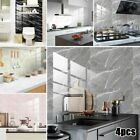 Wall Stickers Kitchen Tile Decal Bathroom Self Adhesive Waterproof Home Decor