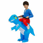 Party Inflatable Dinosaur Adult Kid Riding Costume Halloween Dress Cosplay Prop