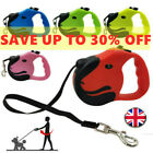 Dog Leash Retractable Nylon Lead Extending Puppy Walking Running Leads Durable