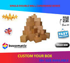NEW CARDBOARD BOXES SINGLE & DOUBLE WALL POSTAL PACKING MAILING CARTONS