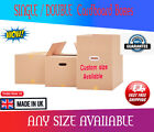 SINGLE & DOUBLE WALL Cardboard Boxes Postal Removal Moving Strong Quality Carton