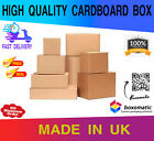 SET OF SINGLE & DOUBLE WALL CARDBOARD Strong Postal BOXES Small Medium Large