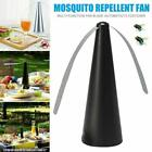 1-8X Outdoor Automatic Fly Trap Fly Repellent Fan Keep Flies Away And Meal Bugs