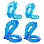Safety Inflatable Swim Ring Kids Adults Beach Floats Party Floaty Toys