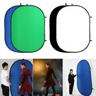 Foldable Background Panel Screen Backdrop Portable Video Broadcast Interview