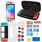 Storage Bag+Cover Case+Screen Protector Accessories Kit for Nintendo Switch OLED
