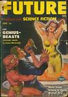 Future January 1951 Space Babe cover